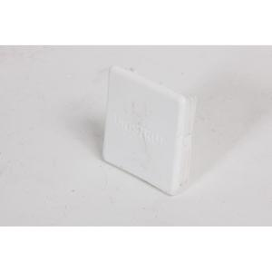 41mm  PVC 41 White Channel Plastic End Caps